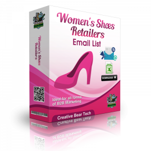 Women's Shoes Retailers B2B Email Marketing List
