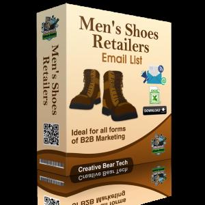 Men's Shoes Retailers B2B Email Marketing List