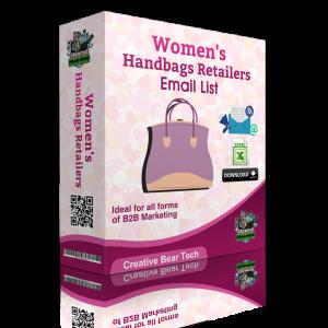 Women's Handbags Retailers B2B Marketing List with Emails