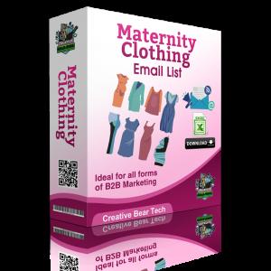 Maternity Clothing B2B Email Marketing List