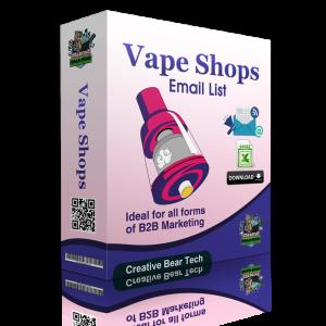 Vape Shop Database Leads - Vape Store Email List