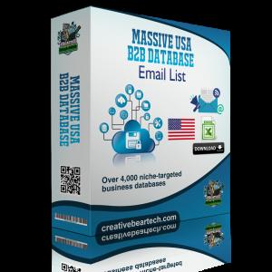 Massive USA B2B Database of All Industries