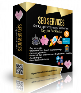 Cryptocurrency Backlinks SEO Package