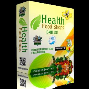 Vitamins and Supplements Manufacturer, Wholesaler and Retailer B2B Marketing Data