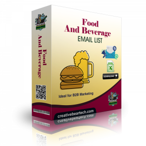 Food and Beverage Wholesale Mailing List