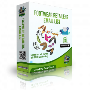 Footwear Retailers Email List and Database of Shoe Shops Mailing Lists