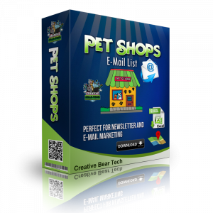 Pets Stores, Pet Food and Pet Products Email List