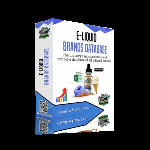Eliquid Brands Database - List of Ejuice Brands with Emails