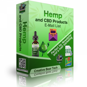 Global Hemp Industry Database and CBD Shops B2B Business Data List with Emails