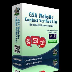 GSA WEBSITE CONTACT Verified List of Website Contact Form URLs
